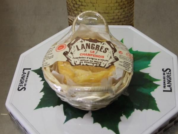 Kaeseladen online shop LANGRES CHAMPENOIS PANIER 180 GR