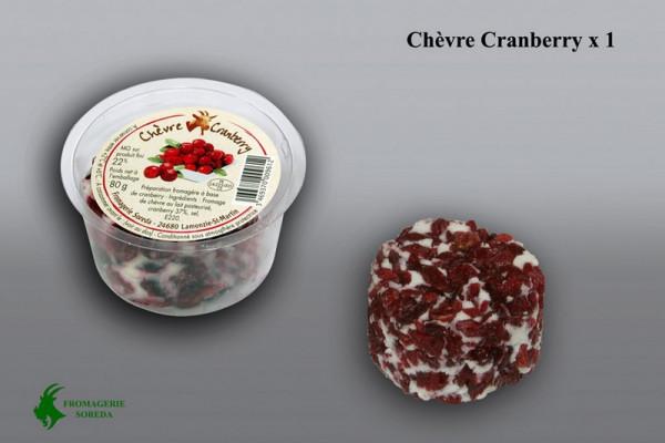 Kaeseladen online shop CROTTIN CRANB. SS COQUE SOREDA 80 G X 12