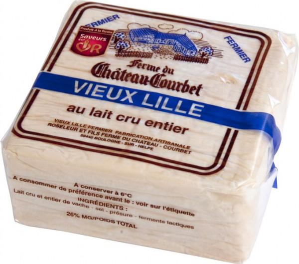 Kaeseladen online shop VIEUX LILLE FERMIER COURBET 750 GR