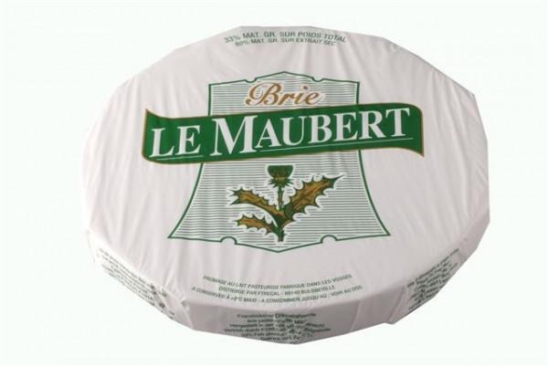Kaeseladen online shop BRIE MAUBERT  3 KG - 33% X 1