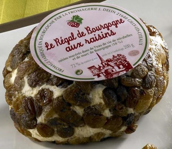 Kaeseladen online shop REGAL BOURGOGNE AUX RAISINS DELIN 200G X 6