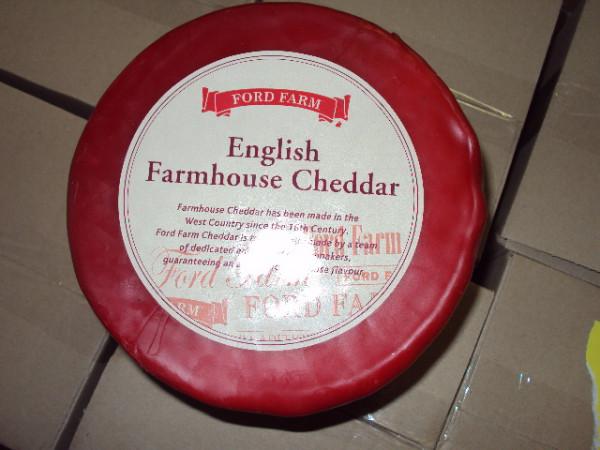 Kaeseladen online shop CHEDDAR REDWAX MILD COL 2 KG
