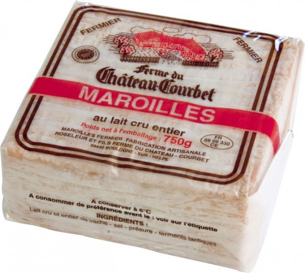 Kaeseladen online shop MAROILLES AOP FERMIER 750 GR