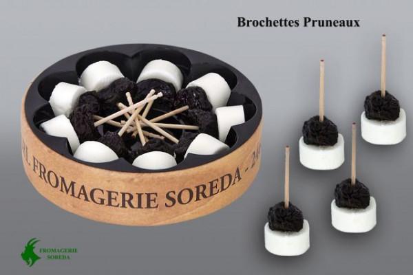 Kaeseladen online shop BROCHETTE CHEVRE PRUNEAUX  80 GR