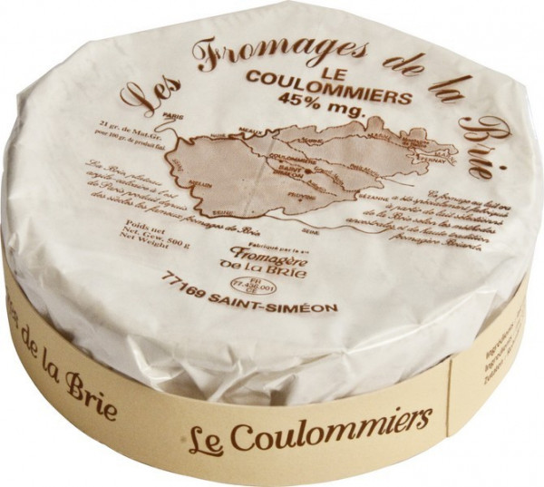 Kaeseladen online shop COULOMMIERS ST-SIMEON 1/4 AFF 45% 500 GR
