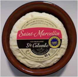 Kaeseladen online shop ST-MARCELLIN JATTE COLOMBE 80 GR CAISSE BOIS