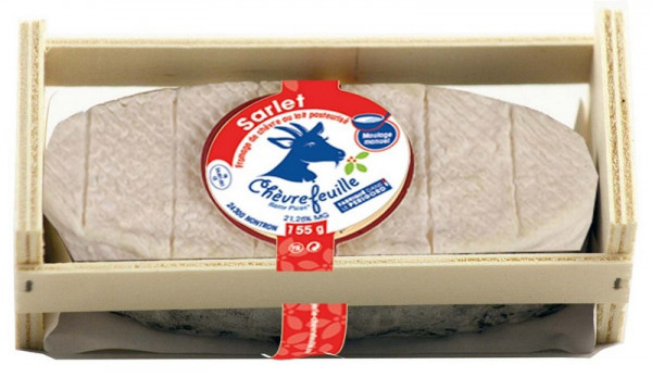 Kaeseladen online shop SARLET BERCEAU BLANC CHEVREF. 155G X 6