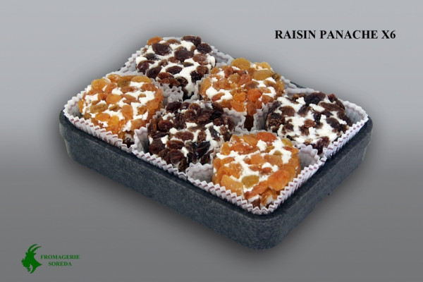 Kaeseladen online shop CROTTIN RAISIN SOREDA panache 80 G X 6