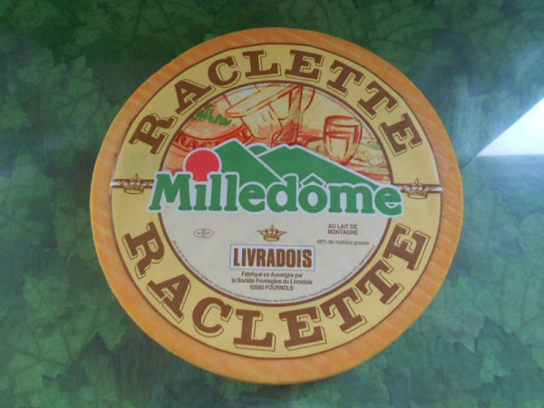 Kaeseladen online shop RACLETTE MILLEDOME X 1 LONG LIFE
