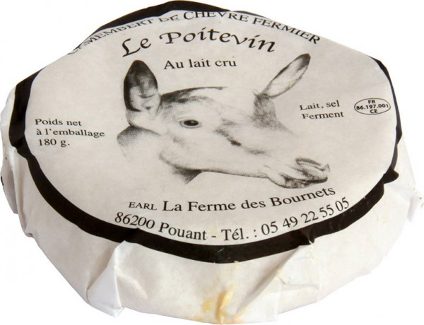 Kaeseladen online shop CAPRICE DU CARDINAL - LE POITEVIN BOURNETS 180 GR