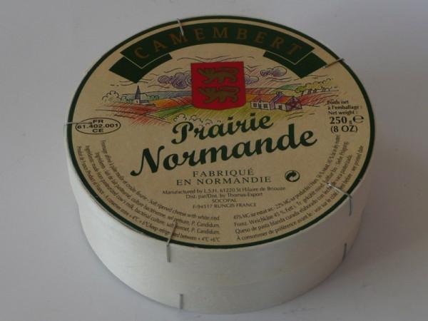 Kaeseladen online shop CAMEMBERT PRAIRIE NORMANDE