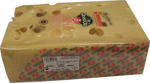 Kaeseladen online shop EMMENTAL GRD CRU MONTAGNON BLOC 4KG