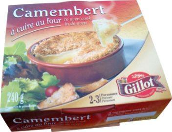 Kaeseladen online shop CAMEMBERT AU FOUR GILLOT 240G X 6