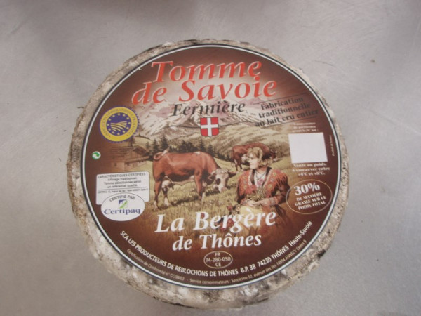 Kaeseladen online shop TOMME DE SAVOIE  FERMIERE THONES X 3