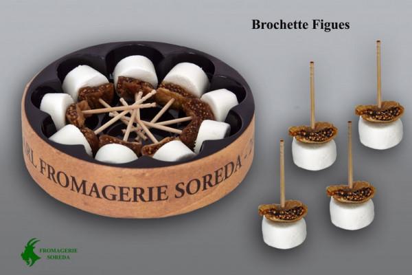 Kaeseladen online shop BROCHETTE CHEVRE FIGUES 9 X 0.09 GR